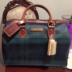 AUTHENTIC POLO RALPH LAUREN BOSTON BAG